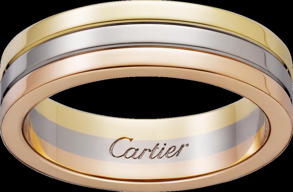 7f21f480e20e Обручальное кольцо TrinityБелое золото, желтое золото, розовое золото